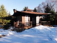 Готовый японский чайный домик.